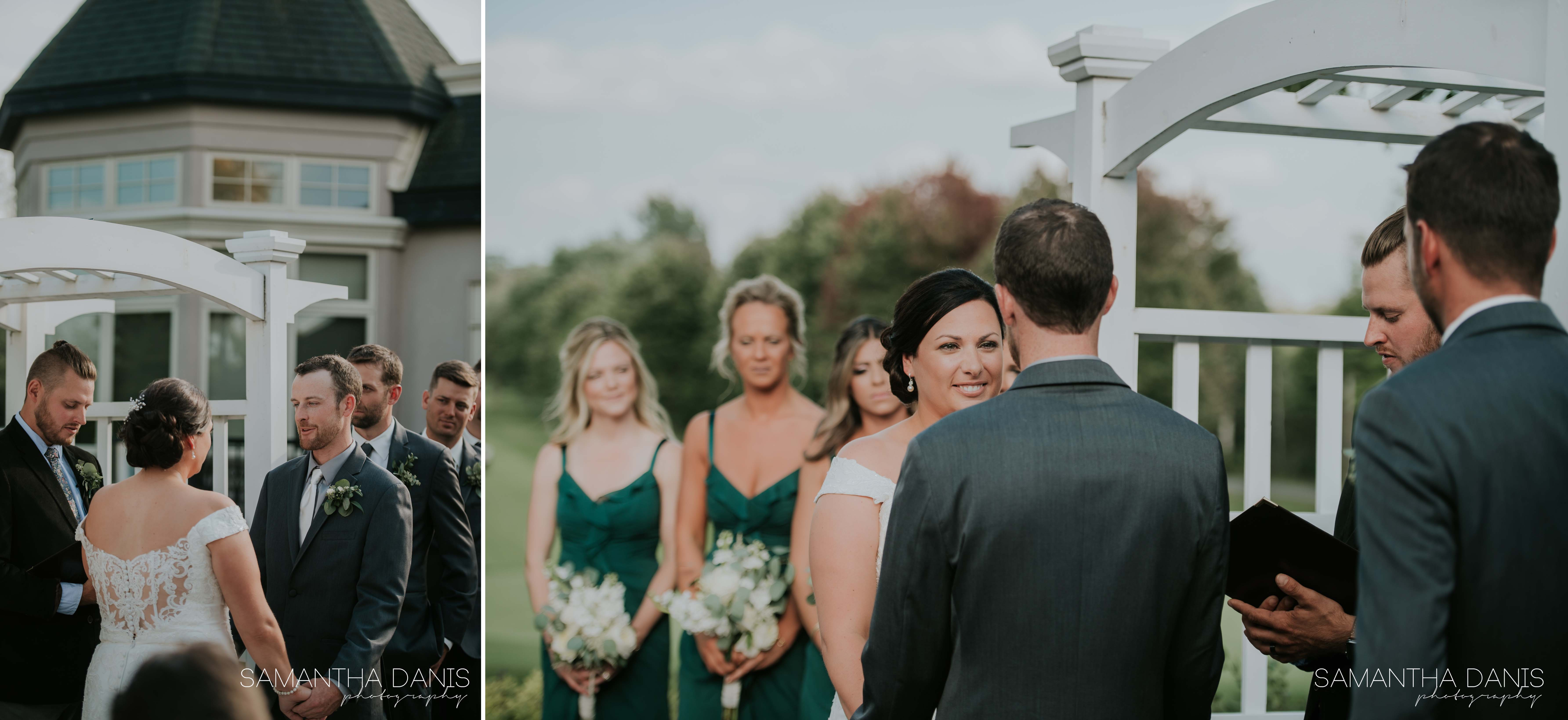 Ottawa wedding Samantha Danis Photography Golf club wedding manotick