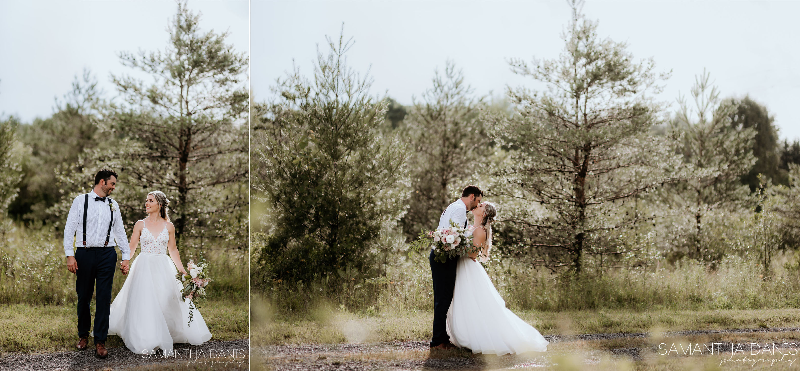 Ottawa Wedding Photographer Samantha Danis Photography Osgoode Sunset Backyard Barn Wedding
