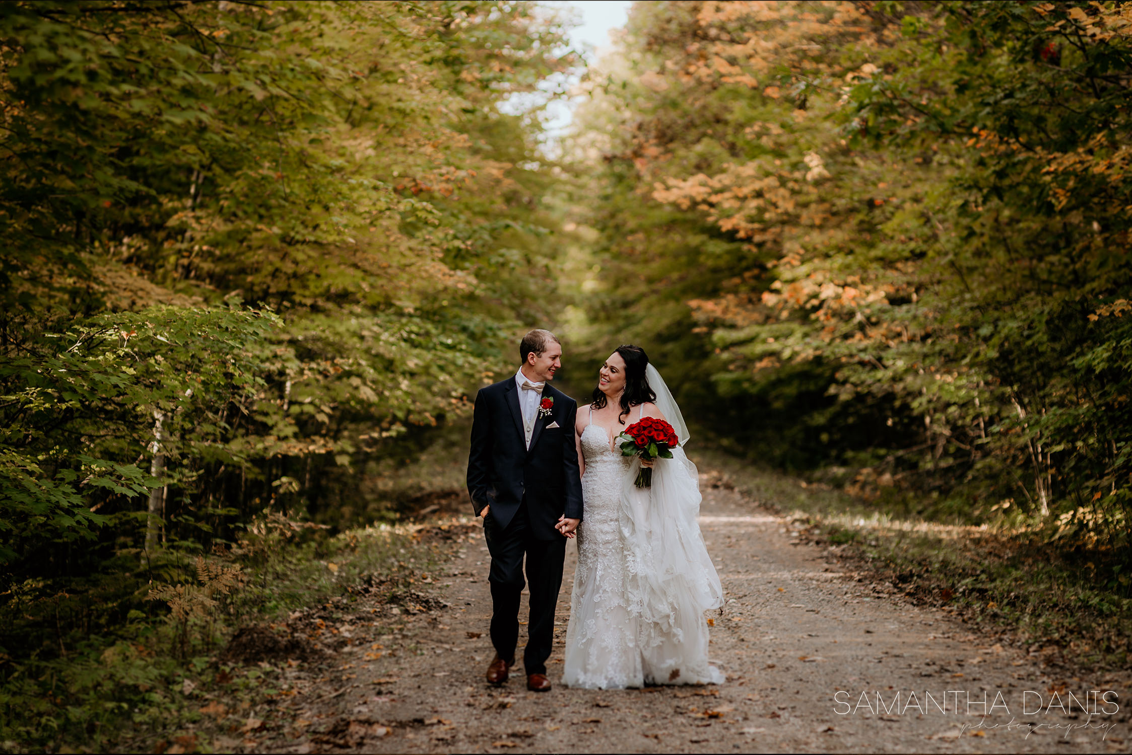 reflection perfection wooland wedding ottawa wedding Samantha Danis Photography