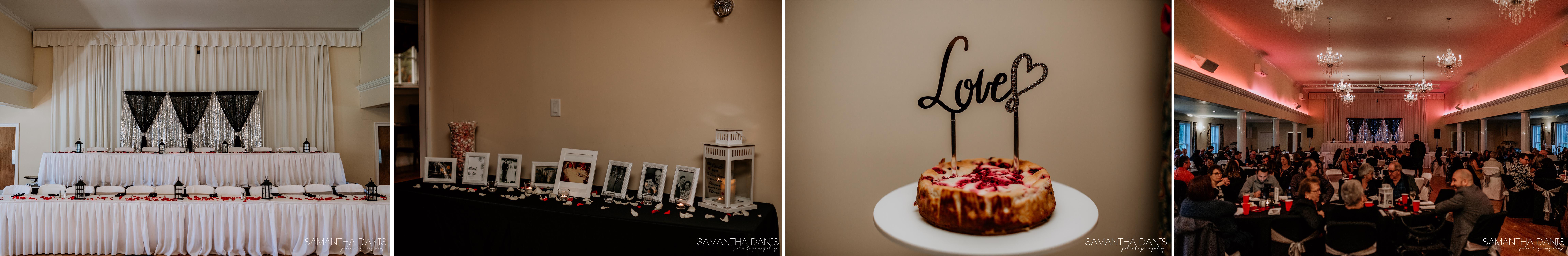 Wedding reception Quebec Fort Coulonge Samantha Danis Photography