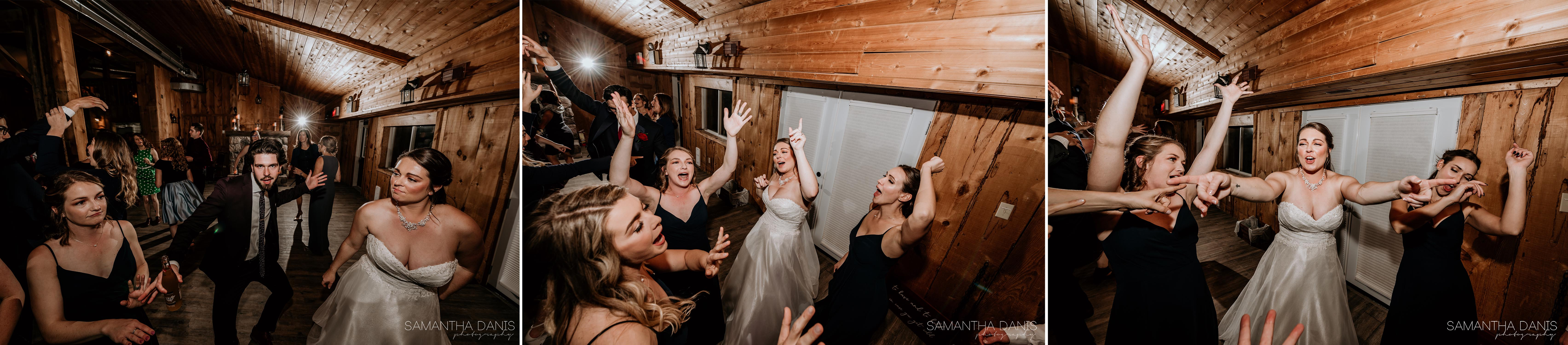 party on the dance floor strathmere Ottawa wedding venue
