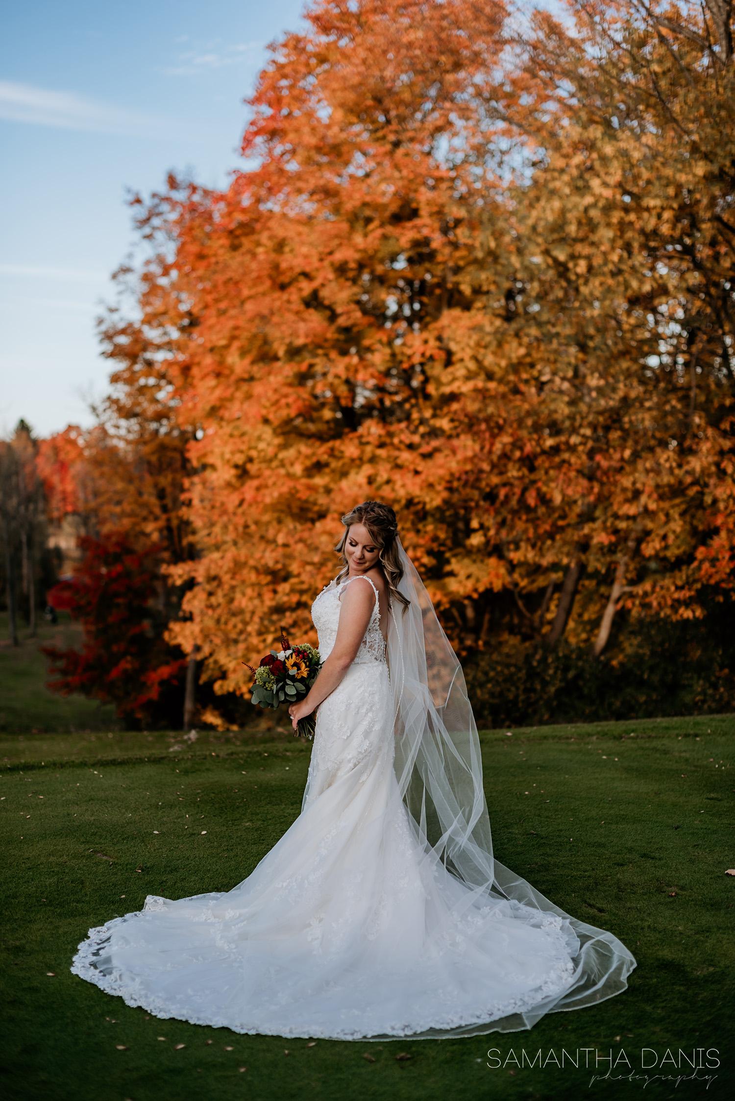 Steph & Chris Loch March Fall Wedding Samantha Danis Photography Ottawa
